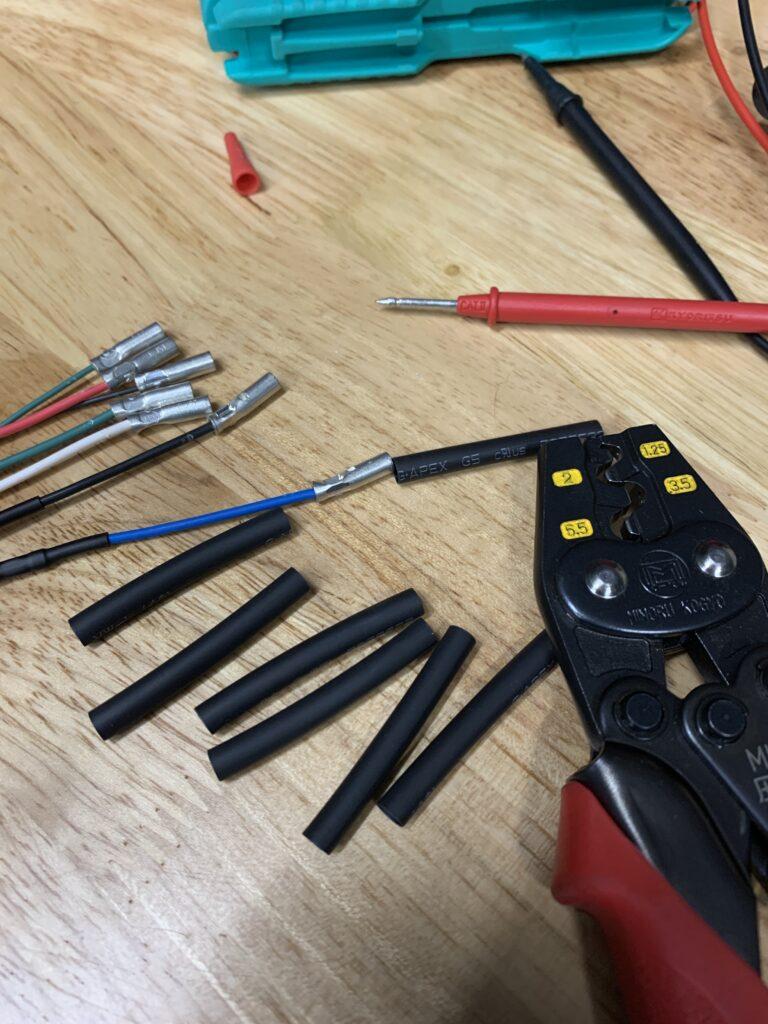 テスト棒接続側加工