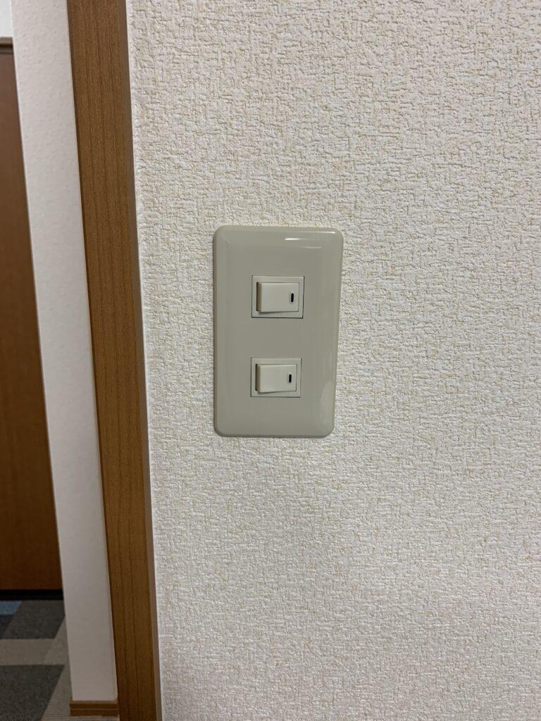 現状のスイッチ(2口)