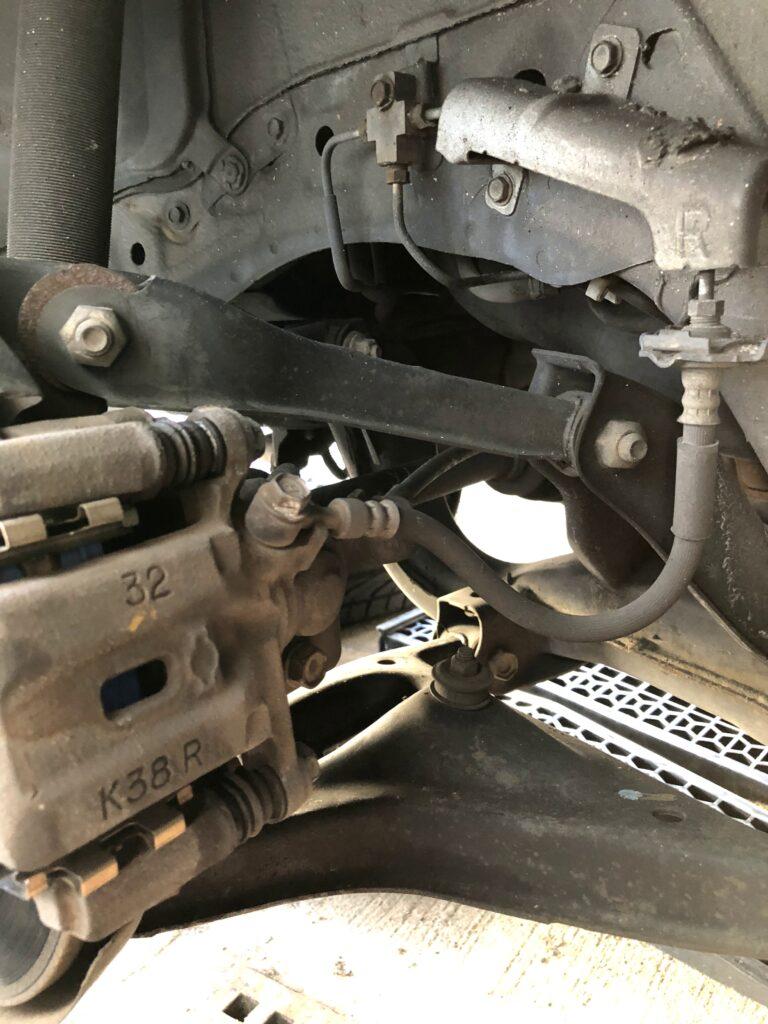 S15 シルビア リヤ ブレーキ オーバーホール