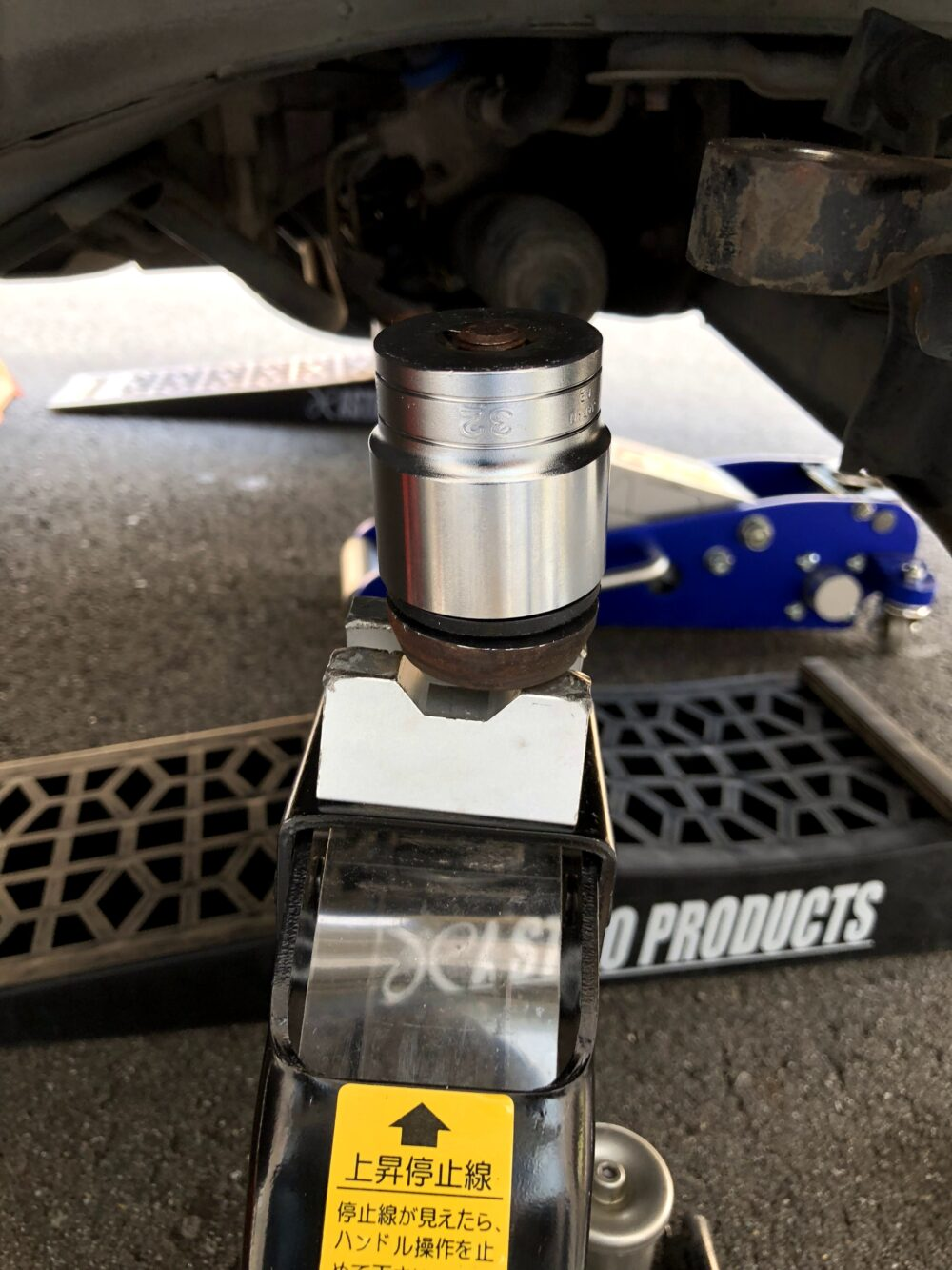 GF-S15 シルビア タイロッドエンドブーツ 交換 圧入治具